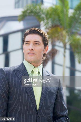 Close-up of a businessman : Foto de stock