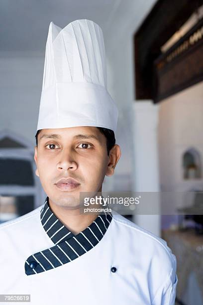 Close-up of a chef in a restaurant