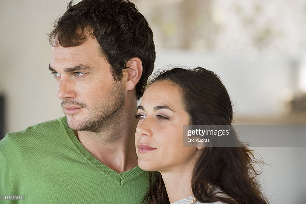 Close-up of a couple : Stock Photo