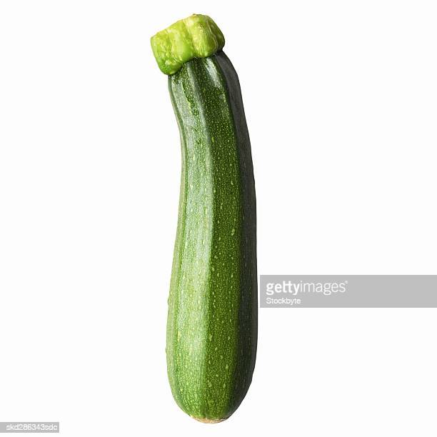 Close-up of a courgette