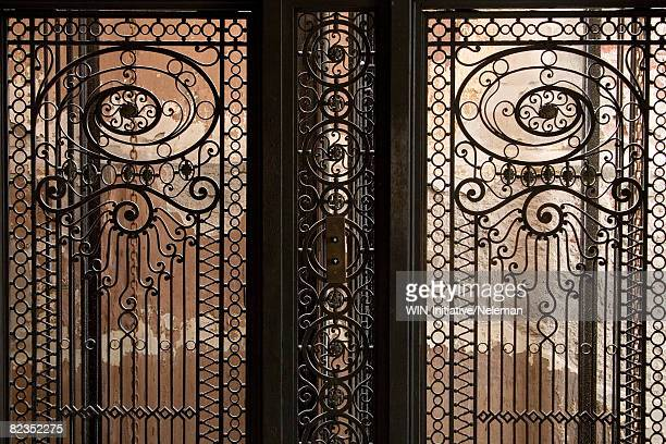 Close-up of a door of an elevator, Uruguay