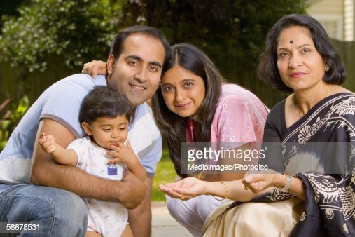 Close-up of a family : Stock Photo