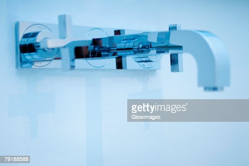 Close-up of a faucet : Stock Photo