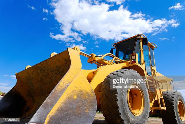 Close-up of a front end loader 2