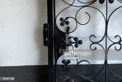 Close-up of a gate : Stock Photo