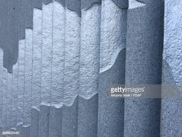 Close-up of a gray wall