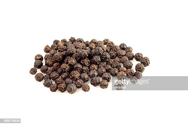 Close-up of a handful of peppercorn