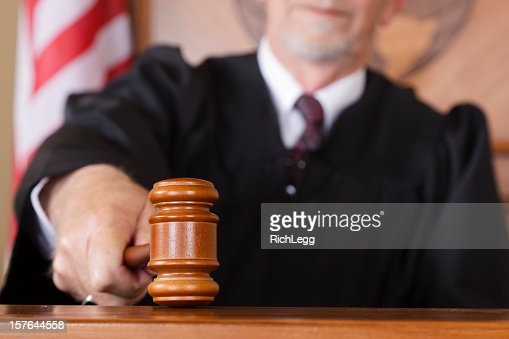 Close-up of a Judge's Gavel