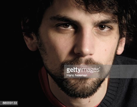 Close-up of a man's face : Stock Photo