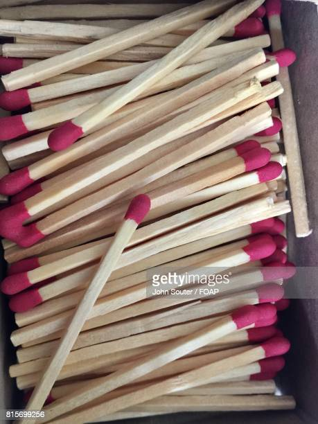 Close-up of a matches