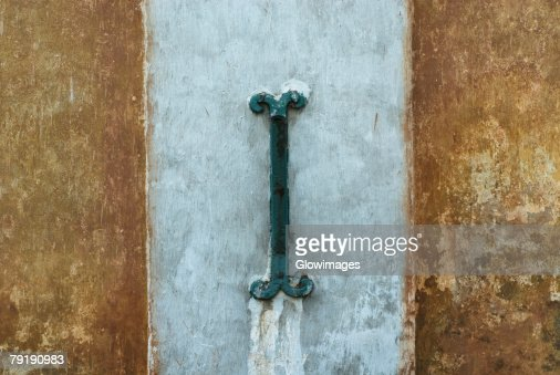 Close-up of a metal hook : Stock Photo