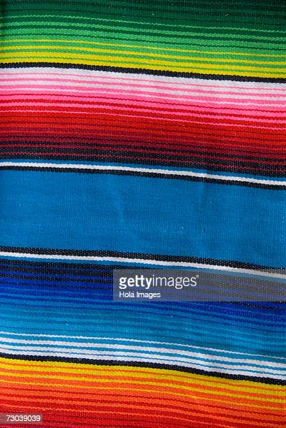Close-up of a Mexican blanket