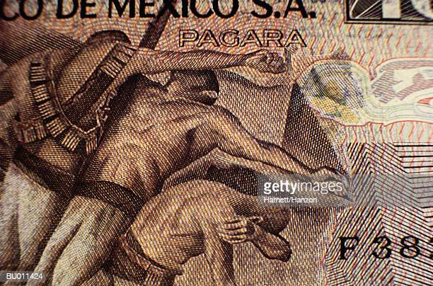 Close-up of a Mexican Peso