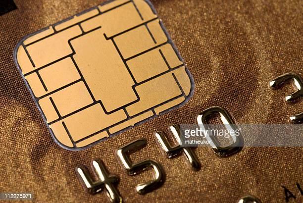 Microchip cartão de crédito