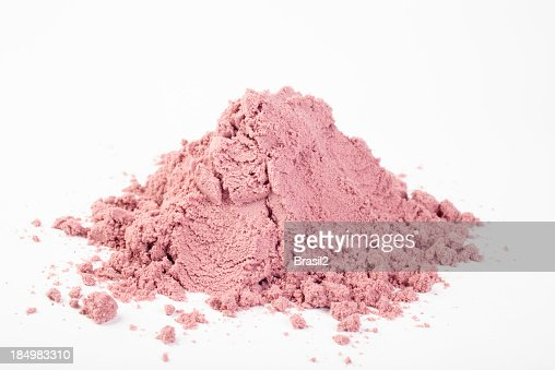 A close-up of a pile of powdered Acai