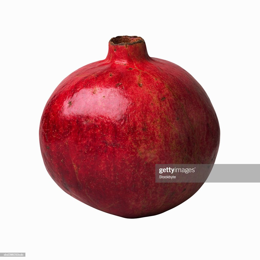 Close-up of a pomegranate : Stock Photo