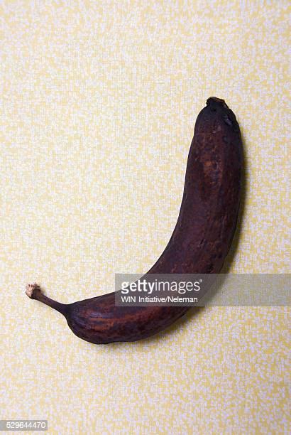 Close-up of a rotten banana