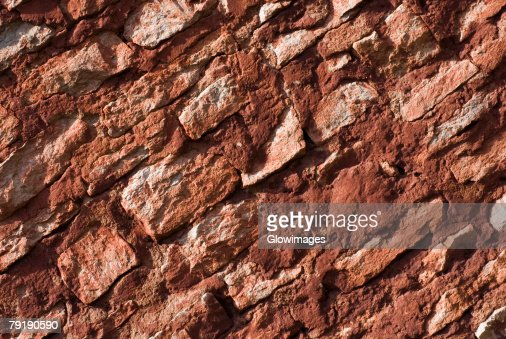 Close-up of a rugged wall : Foto de stock