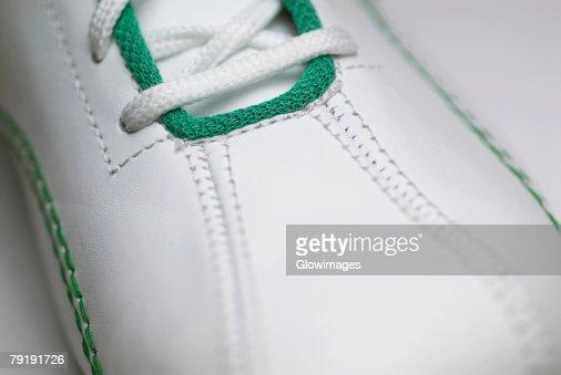 Close-up of a shoe : Foto de stock