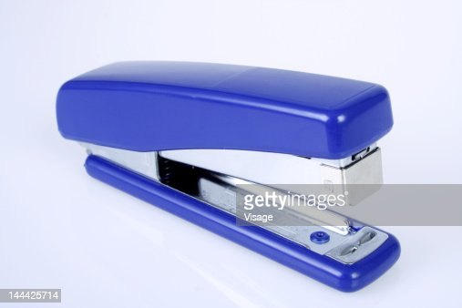 Close-up of a Stapler