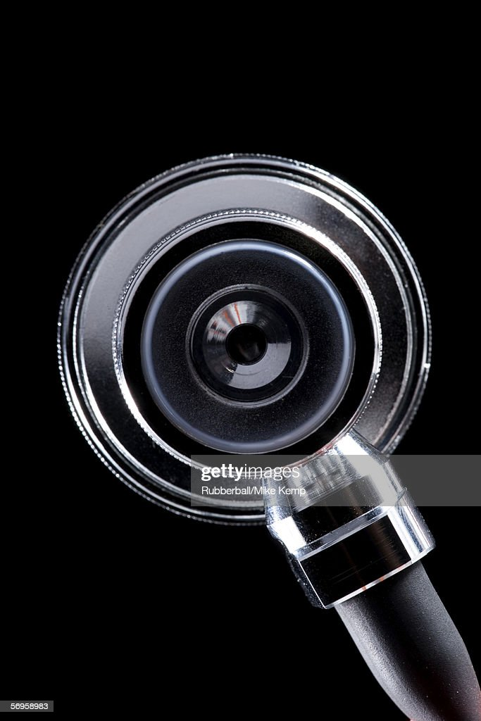 Close-up of a stethoscope : Stock Photo