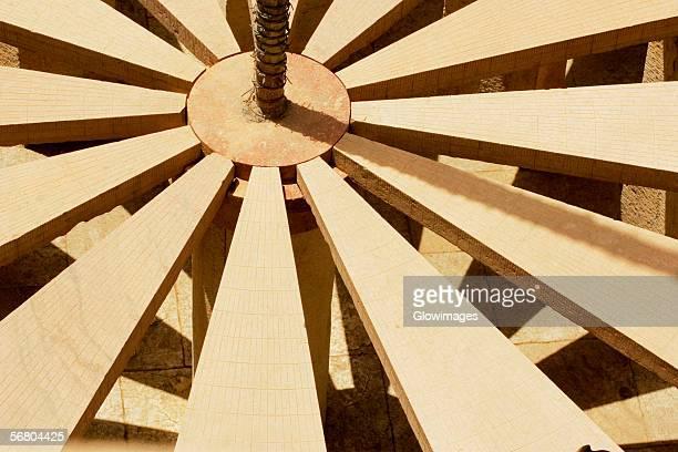 Close-up of a sun dial, Jantar Mantar, Jaipur, Rajasthan, India