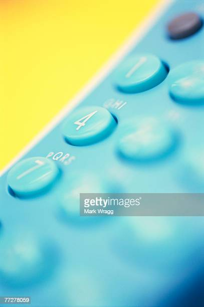 Close-up of a telephone keypad