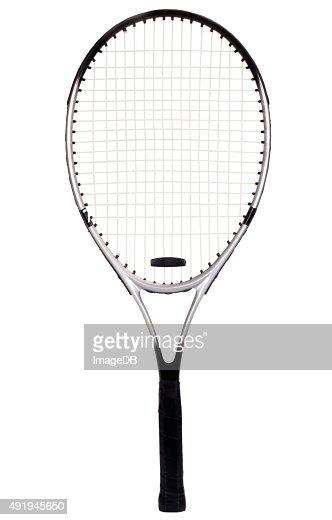 Close-up of a tennis racket : Stock Photo