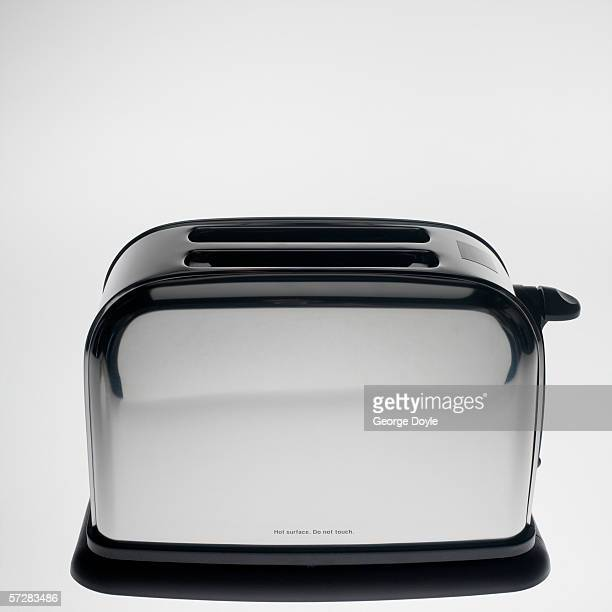 Close-up of a toaster