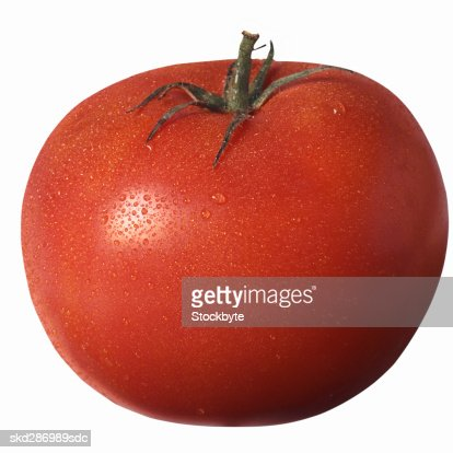 Close-up of a tomato : Stock Photo