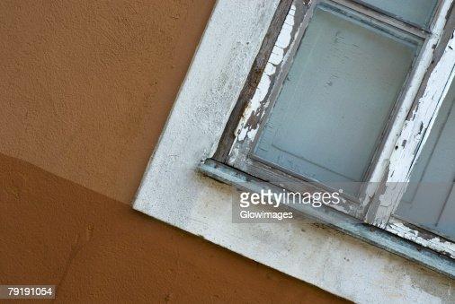 Close-up of a window : Foto de stock
