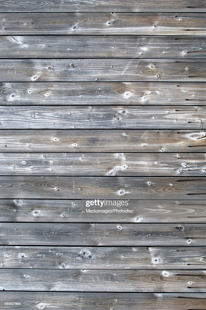 Close-up of a wood paneling : Stock Photo