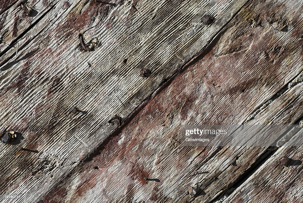 Close-up of a wooden surface : Foto de stock