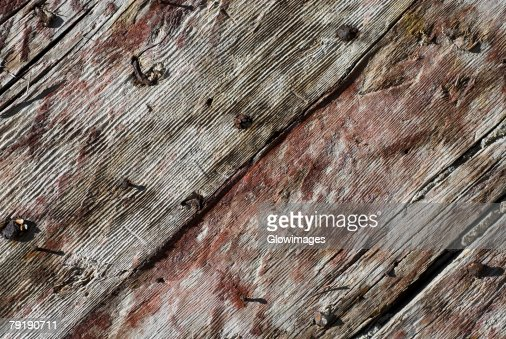Close-up of a wooden surface : Stock Photo
