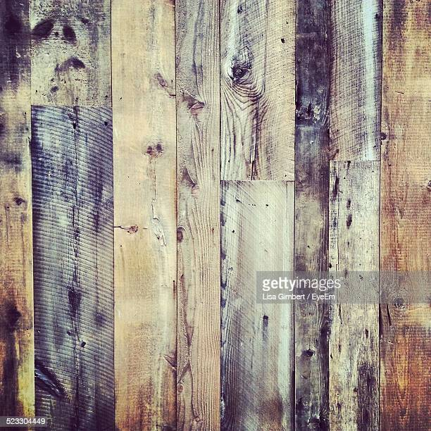 Close-Up Of A Wooden Wall