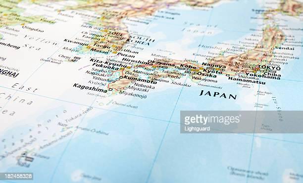 map 日本の