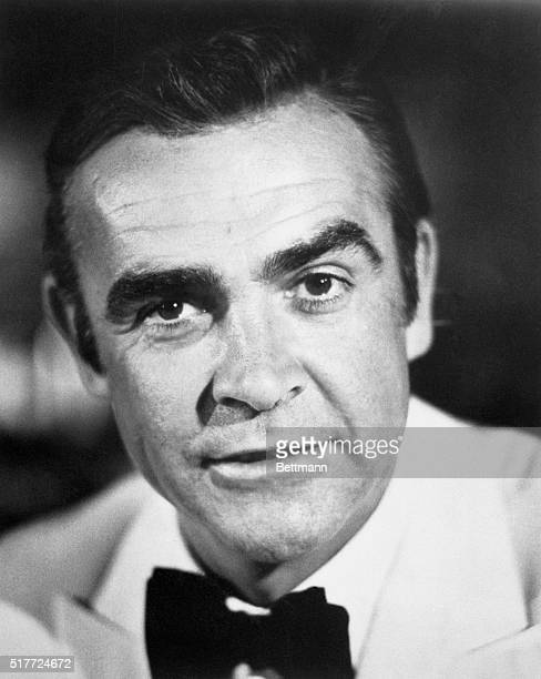 Closeup of actor Sean Connery 1971 Photograph