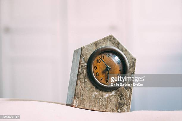 Close-Up Of Alarm Clock