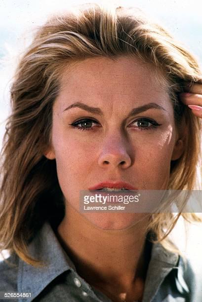 Closeup of American actress Elizabeth Montgomery 1964