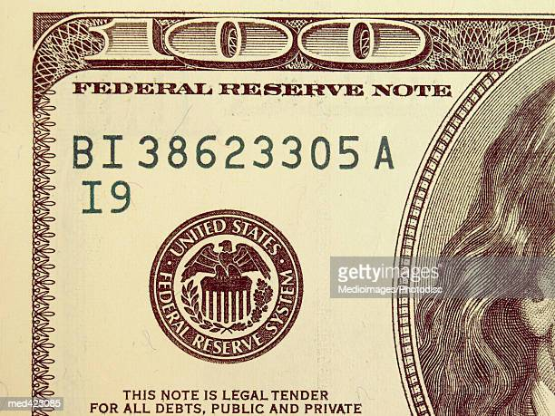 Close-up of an American bank note