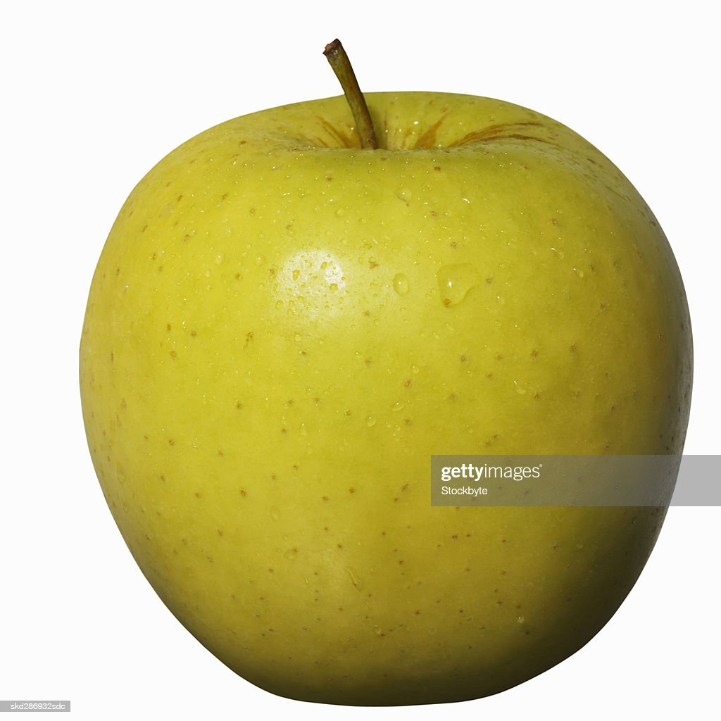 Close-up of an apple : Stock Photo