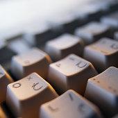 Close-up of an Arabic Computer Keyboard