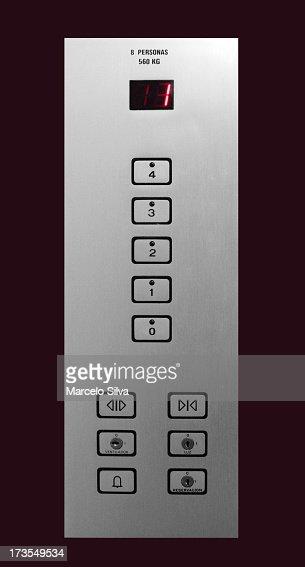 Aufzug-Panel