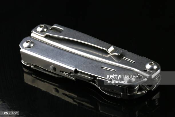 Close-up of an multipurpose survival tool