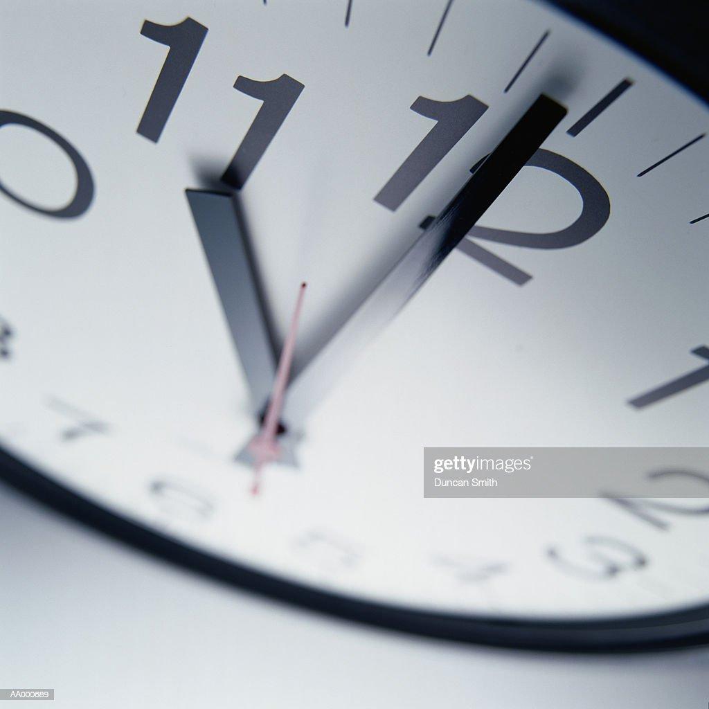 Close-up of an Office Clock