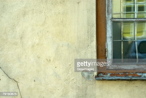 Close-up of an old window : Foto de stock