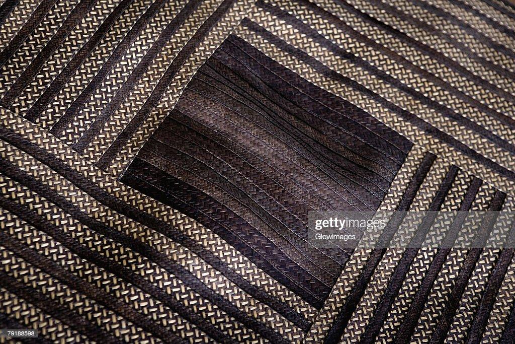 Close-up of an ottoman : Foto de stock