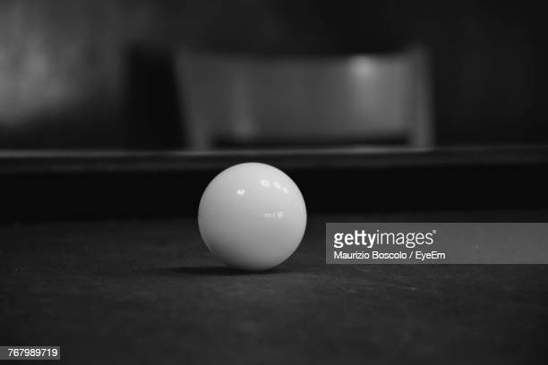 Close-Up Of Ball On Table
