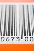 Close-Up Of Barcode