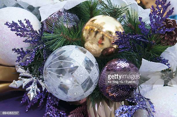 Close-Up Of Baubles